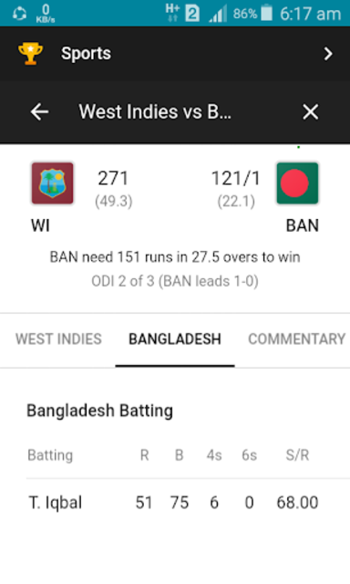 Live Cricket screenshot 7