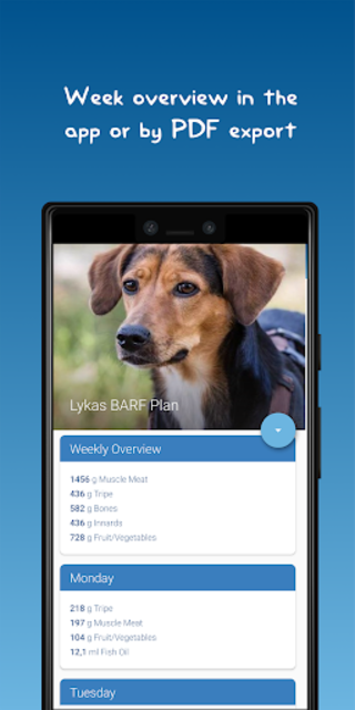 The BARF App screenshot 2