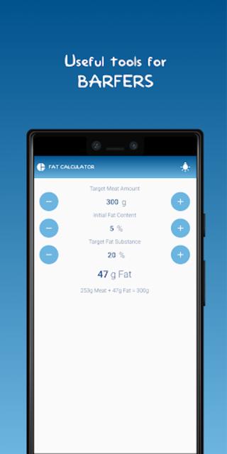 The BARF App screenshot 6