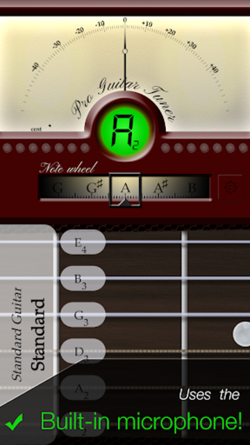 Pro Guitar Tuner screenshot 1