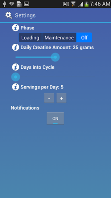 Creatine Guider screenshot 3