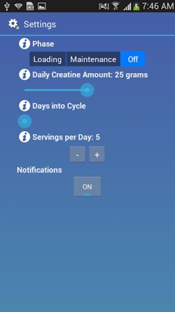 Creatine Guider screenshot 8