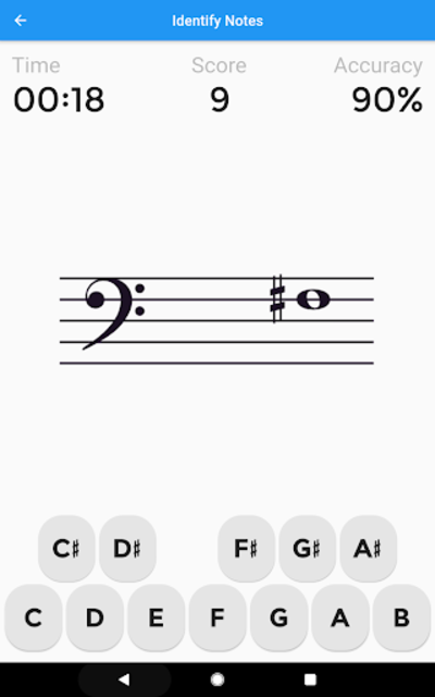 Music Tutor (Sight Reading) screenshot 18