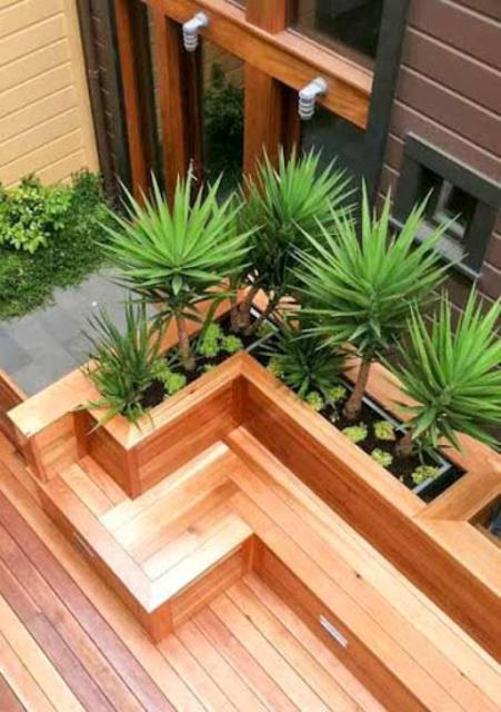 1000+ Wood Planters Ideas screenshot 2