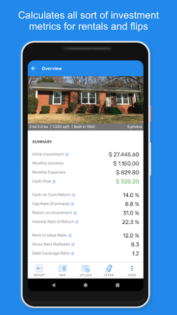 DealCrunch - Real Estate Analysis and Calculator