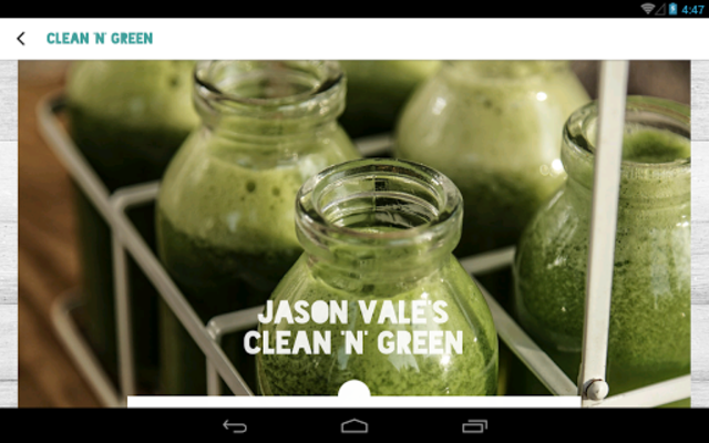Jason Vale's 5:2 Juice Diet screenshot 6