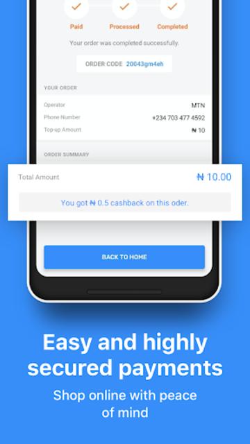 JumiaPay - Airtime & Bills screenshot 5
