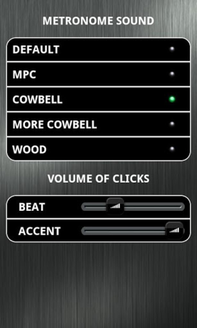 Time Trainer Metronome screenshot 4