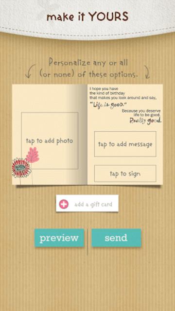justWink Greeting Cards screenshot 6