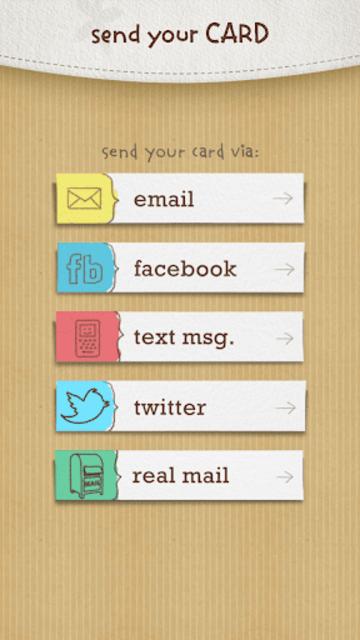 justWink Greeting Cards screenshot 7