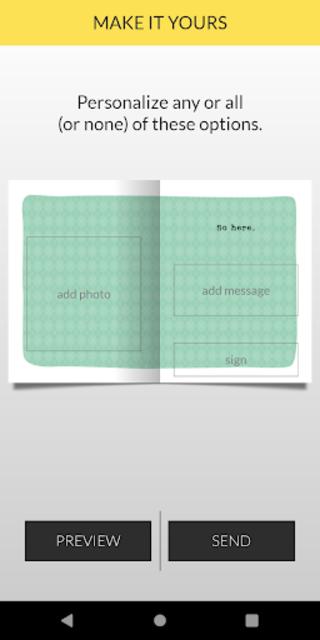 justWink Greeting Cards screenshot 3