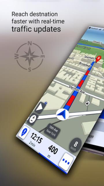 GPS Offline Maps, Directions - Explore & Navigate screenshot 9