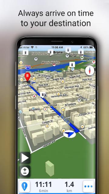 GPS Offline Maps, Directions - Explore & Navigate screenshot 14