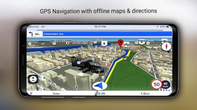 GPS Offline Maps, Directions - Explore & Navigate screenshot 19