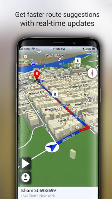 GPS Offline Maps, Directions - Explore & Navigate screenshot 20