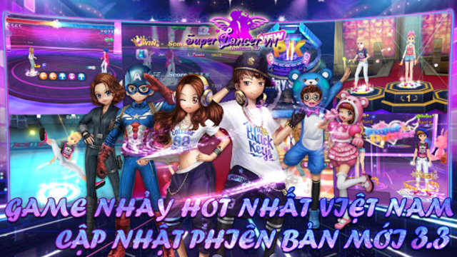 Super Dancer VN screenshot 1