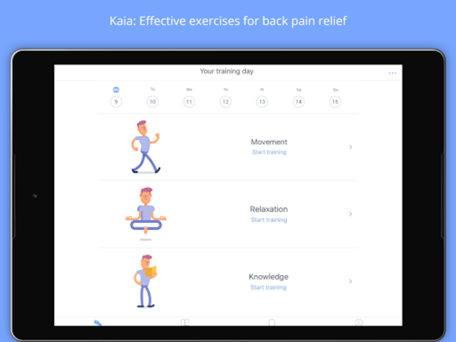 Back Pain Relief at Home - Kaia screenshot 5