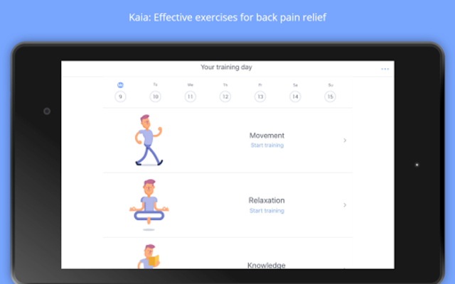 Back Pain Relief at Home - Kaia screenshot 8