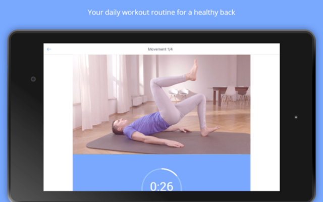 Back Pain Relief at Home - Kaia screenshot 9