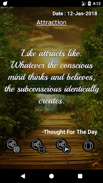 Thought For The Day screenshot 5