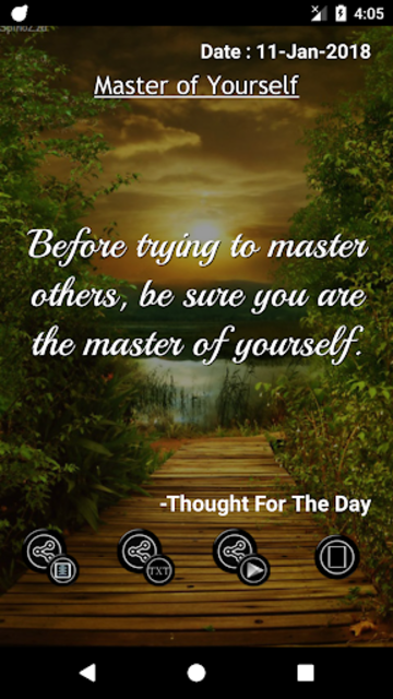Thought For The Day screenshot 10