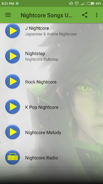 Nightcore Songs Update screenshot 2