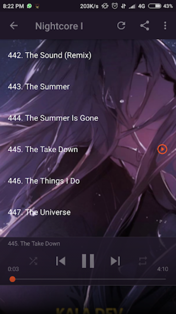 Nightcore Songs Update screenshot 3