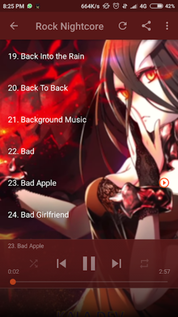 Nightcore Songs Update screenshot 8
