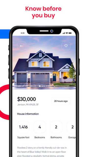 Real Estate: Homes for Sale and Rent, Property screenshot 2