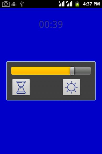 Blue Light screenshot 1