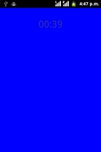 Blue Light screenshot 2
