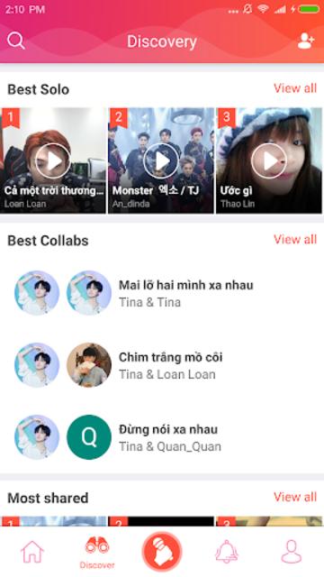 Sing Karaoke - Free Sing Karaoke music screenshot 2