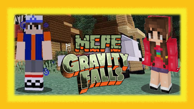 MCPE Gravity Falls screenshot 1