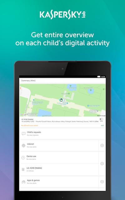 Parental Control & Kids GPS: Kaspersky SafeKids screenshot 9