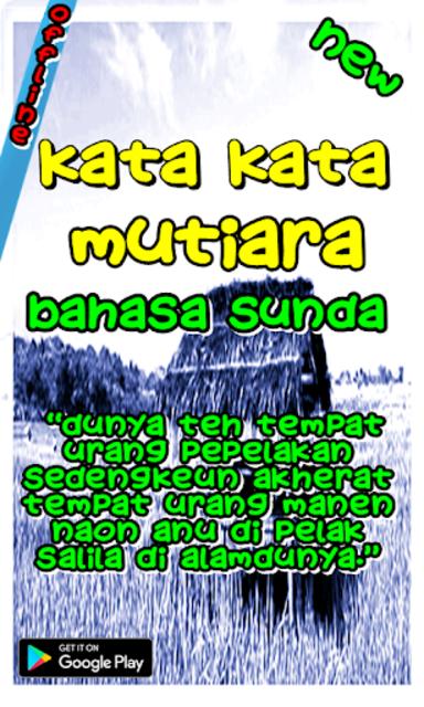 Kata Kata Mutiara Bahasa Sunda