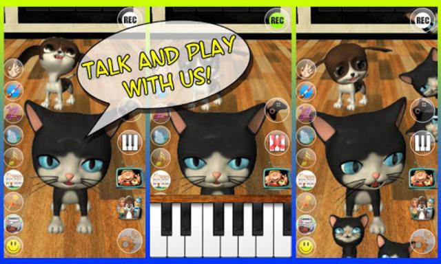 Talking Cat & Dog – AdFree screenshot 1