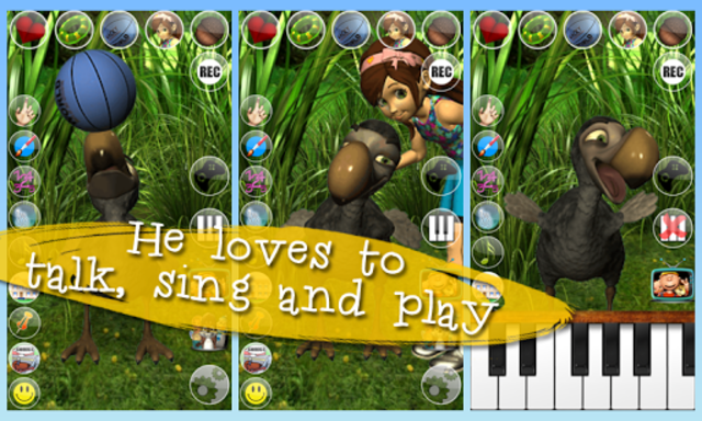 Talking Didi the Dodo - AdFree screenshot 10