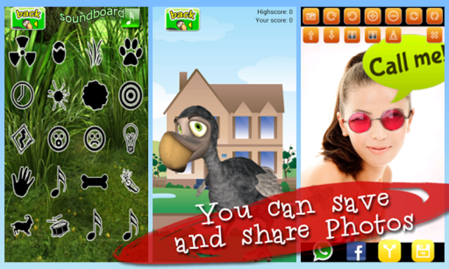 Talking Didi the Dodo - AdFree screenshot 13