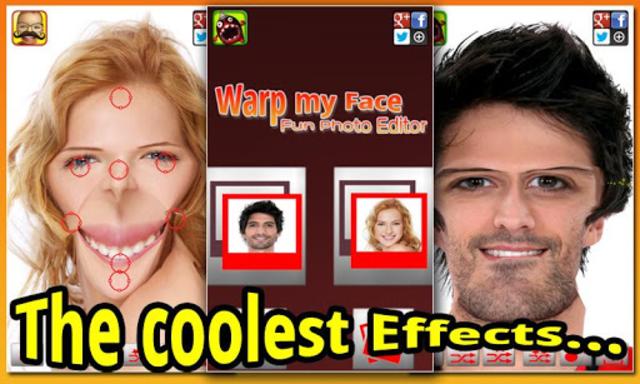 Warp My Face: Fun Photo Editor screenshot 23
