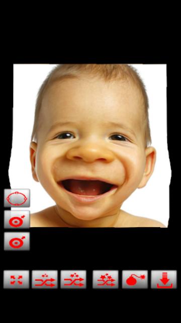 Warp My Face: Fun Photo Editor screenshot 2
