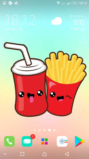 Kawaii Food Wallpapers Cute Backgrounds Images