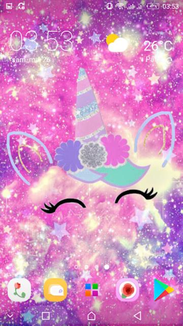 Girly Galaxy wallpapers Cute & Kawaii backgrounds screenshot 13