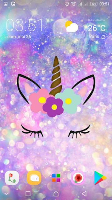 Girly Galaxy wallpapers Cute & Kawaii backgrounds screenshot 5