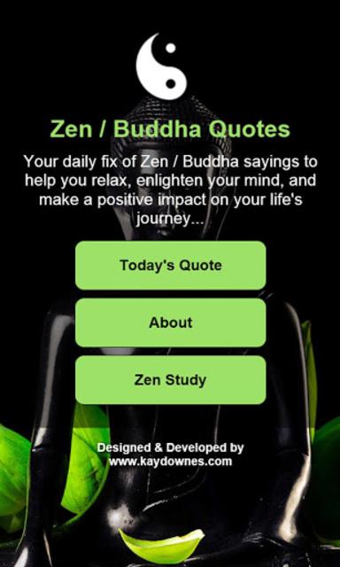 Daily Zen / Buddha Quotes screenshot 1