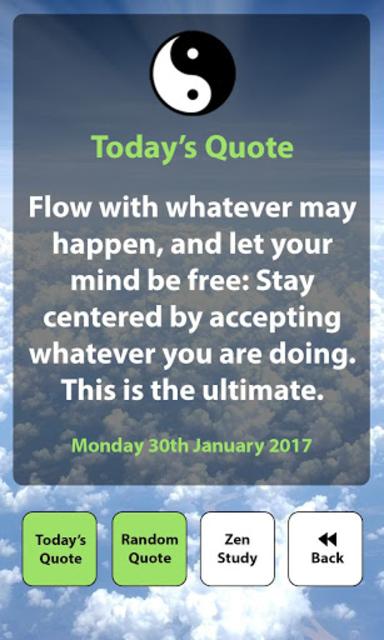 Daily Zen / Buddha Quotes screenshot 2