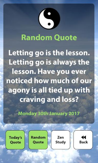 Daily Zen / Buddha Quotes screenshot 3