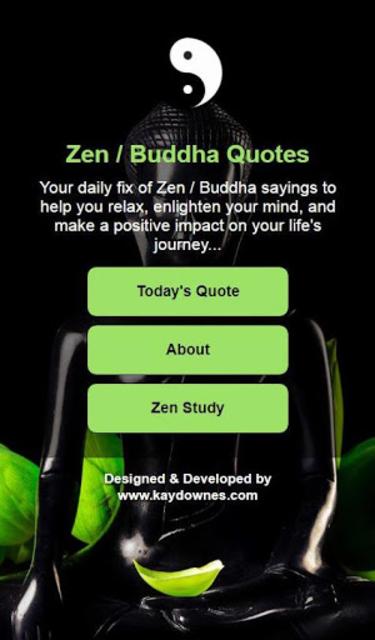 Daily Zen / Buddha Quotes screenshot 5