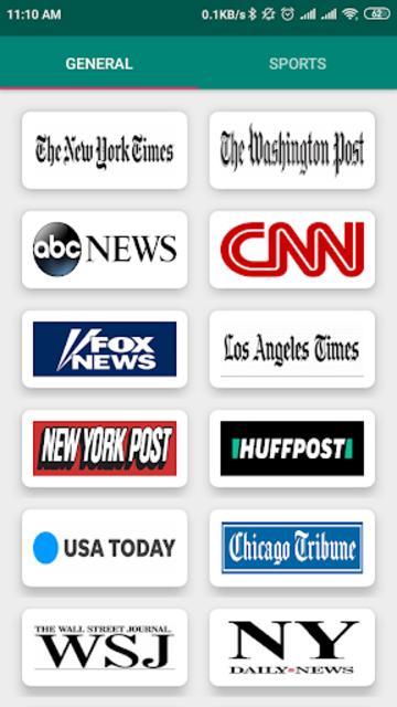 USA Newspapers screenshot 1