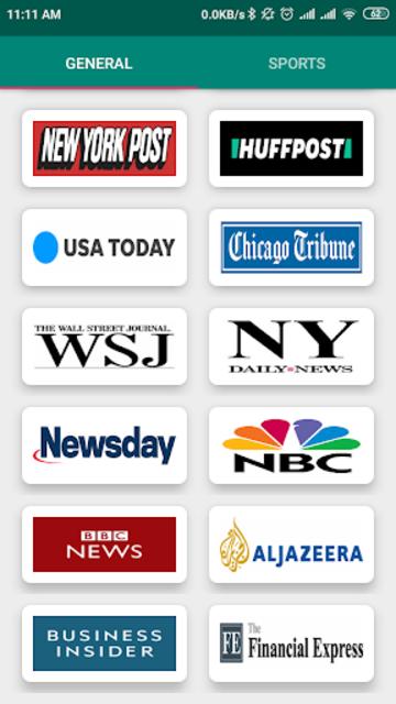 USA Newspapers screenshot 6