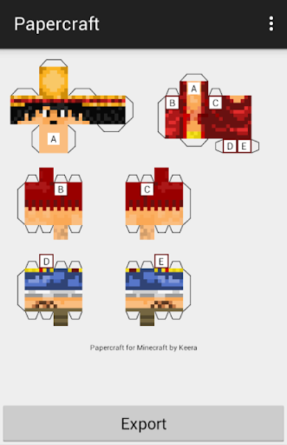 Papercraft for Minecraft screenshot 6